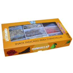 Snack roeditos para chinchillas Ribero