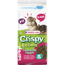 Pienso Crispy pellets Chinchillas-Degús 01