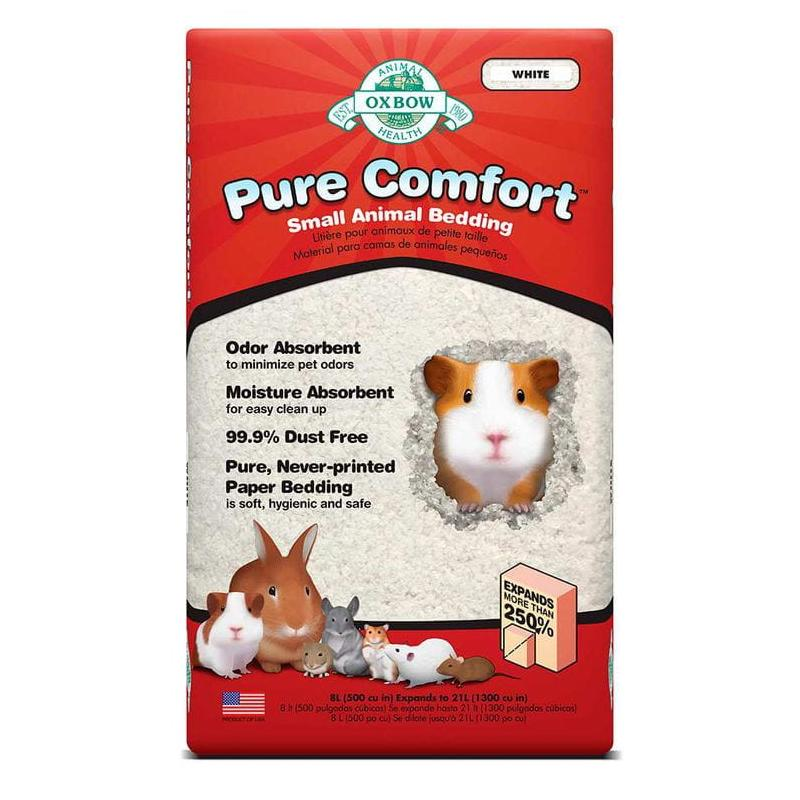 Lecho papel comfort blanco 8l Oxbow